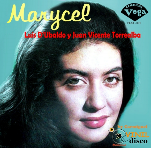 Marycel Lus D'Ubaldo con JV Torrealba Front