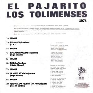 EL PAJARITO B 1