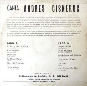 ANDRES CISNEROS - RECORDANDO EL PASADO (iR)