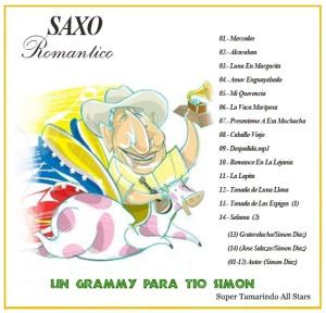 Saxo Romantico - Un Grammy Para Tio Simon (2007) Back