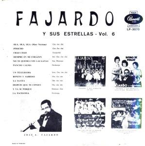 Fajardo y Sus Estrellas Vol 6 - Tras