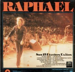 Raphael - 15 Eternos Exitos Front
